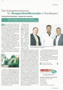 Das Kompetenzzentrum für Augenheilkunde in Nordbayern
